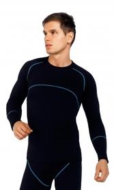 męska  koszulka termoaktywna gWinner Compression III czarna