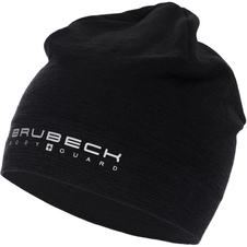 czapka z wełną Merino Brubeck Active Wool czarna