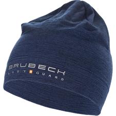 czapka z wełną Merino Brubeck Active Wool granatowa