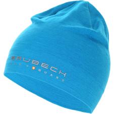 czapka z wełną Merino Brubeck Active Wool niebieska