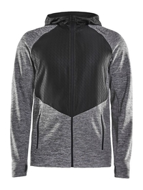 Craft Charge Sweat Hood Jacket - ciepła męska bluza z kapturem rozm. S