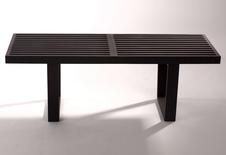 George Nelson Bench black - czarna ława, stolik.