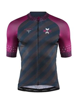 Craft Specialiste Jersey - męska koszulka rowerowa - granat/fiolet