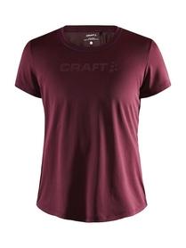 Craft Core Essence SS Tee - damska koszulka - bordowa