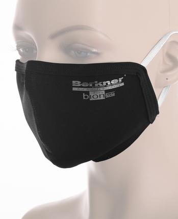 Maska zabezpieczająca z materiału z jonami srebra Berkner
