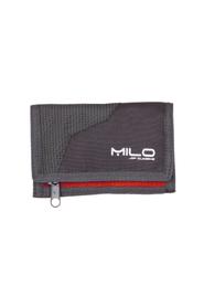 MILO WALLY portfel sportowy szary/czerwony