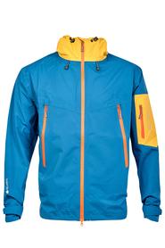 MILO ZACATE - męska kurtka niebieski/żółty