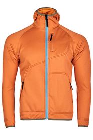 Milo Ane męska bluza techniczna pomarańczowa