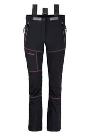 Milo Lahore Pants damskie spodnie trekkingowe czarne/różowe