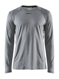 Craft ADV Essence LS Tee M- męska koszulka z długim rękawem szara