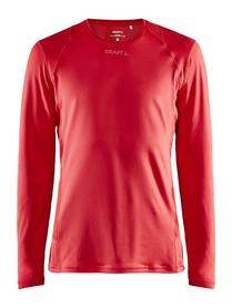 Craft ADV Essence LS Tee M- męska koszulka z długim rękawem czerwona