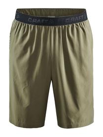 Craft Core Essence Relaxed Shorts- męskie krótkie spodnie oliwkowe