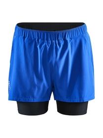 Craft ADV Essence 2 in 1 Stretch Shorts- męskie krótkie spodnie niebieskie