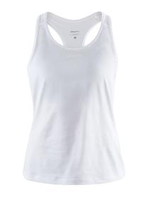 Craft ADV Essence Singlet - damski bezrękawnik - biały