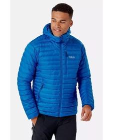 Kurtka puchowa męska Rab Microlight Alpine niebieska