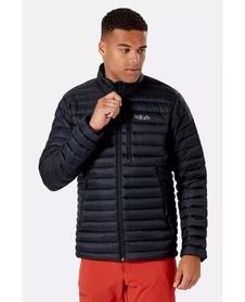 Kurtka puchowa męska Rab Microlight Jacket czarna