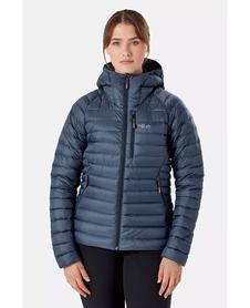Kurtka puchowa damska Rab Microlight Alpine Jacket grafitowa