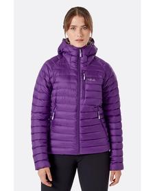Kurtka puchowa damska Rab Microlight Alpine Jacket fioletowa