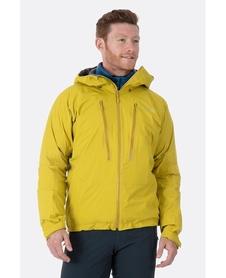 Kurtka męska Rab Downpour Alpine żółta