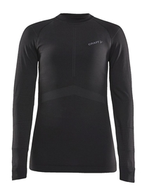 Craft Active Intensity CN LS W- koszulka damska z długim rękawem czarna