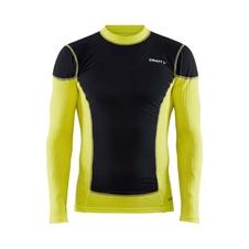 Craft Active Extreme X Wind - męska koszulka termoaktywna z długim rękawem żółta