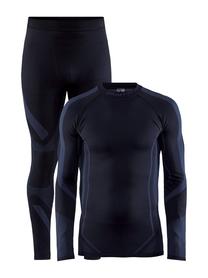 Craft Dry Fuseknit Set - komplet męskiej bielizny termoaktywnej czarny