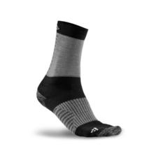 Craft XC Training Sock - skarpety unisex szaro-czarne