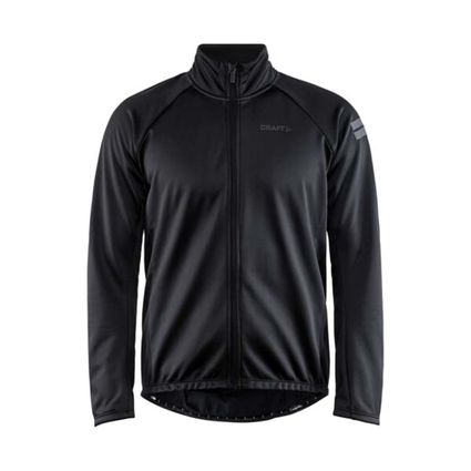 Craft Core Ideal Jacket 2.0 - męska wiatroszczelna kurtka czarna