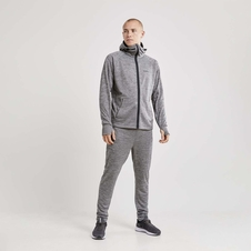 Craft Charge Tech Sweat Hood Jacket - męska bluza z kapturem szara