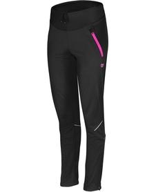 damskie spodnie z membraną Etape Verena WS czarne/różowe