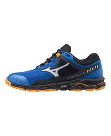 Mizuno Wave Daichi 5 - buty do biegania w terenie - niebiesko/szare
