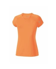 damska koszulka Mizuno Flex Tee pomarańczowa