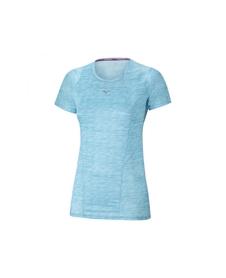 damska koszulka Mizuno Vent Tee niebieska