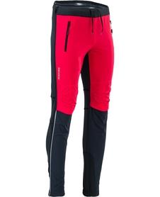 Silvini Soracte Pro męskie spodnie narciarstwo skitourowe, narciarstwo biegowe czarne/czerwone