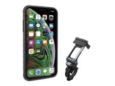 Etui rowerowe do iPhone Xs Max Topeak RideCase czarne/szare