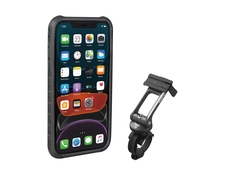 Etui rowerowe do iPhone 11 Topeak RideCase czarne/szare
