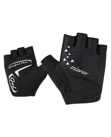 damskie rękawiczki rowerowe Ziener Caci Lady Gel czarne