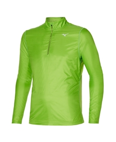 Mizuno Hybrid LS HZ wiatroszczelna bluza zielona
