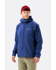 Rab Downpour Eco męska kurtka 20/20 tyś - nightfall blue